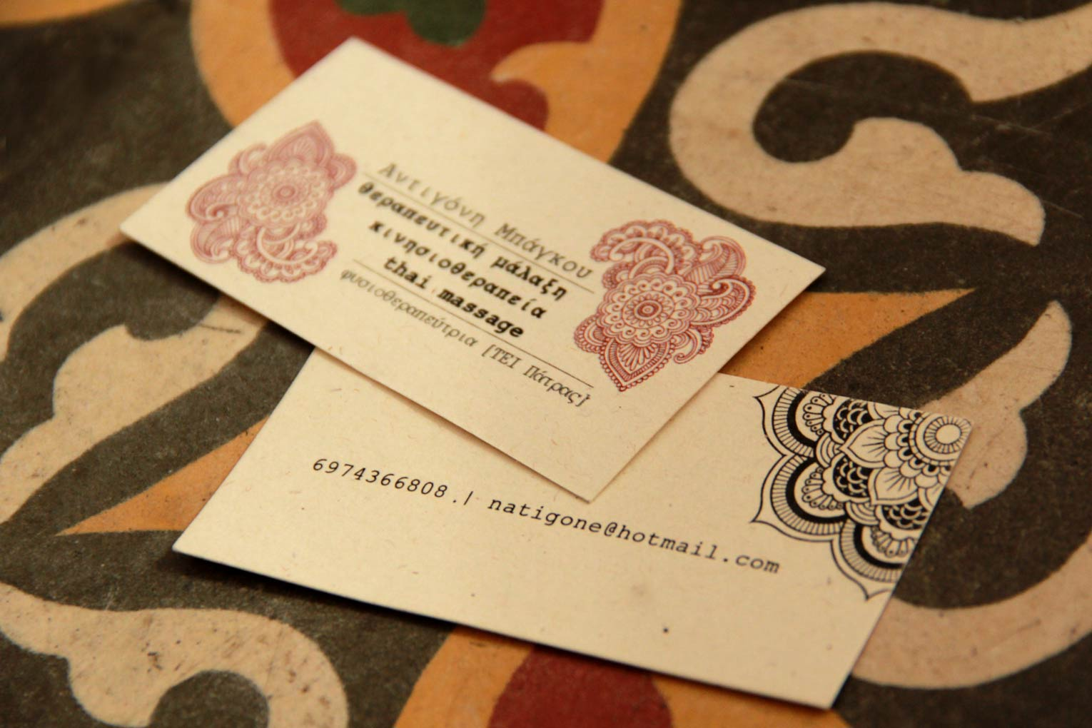 business cards – invitations |
